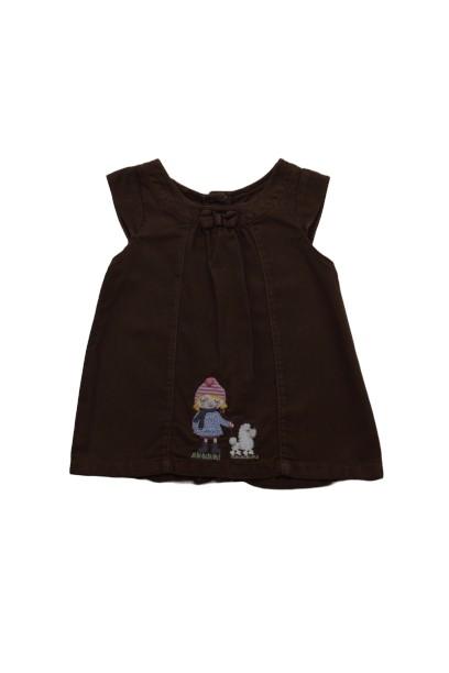 Foto 1 - Vestido Manga Curta | Alphabeto