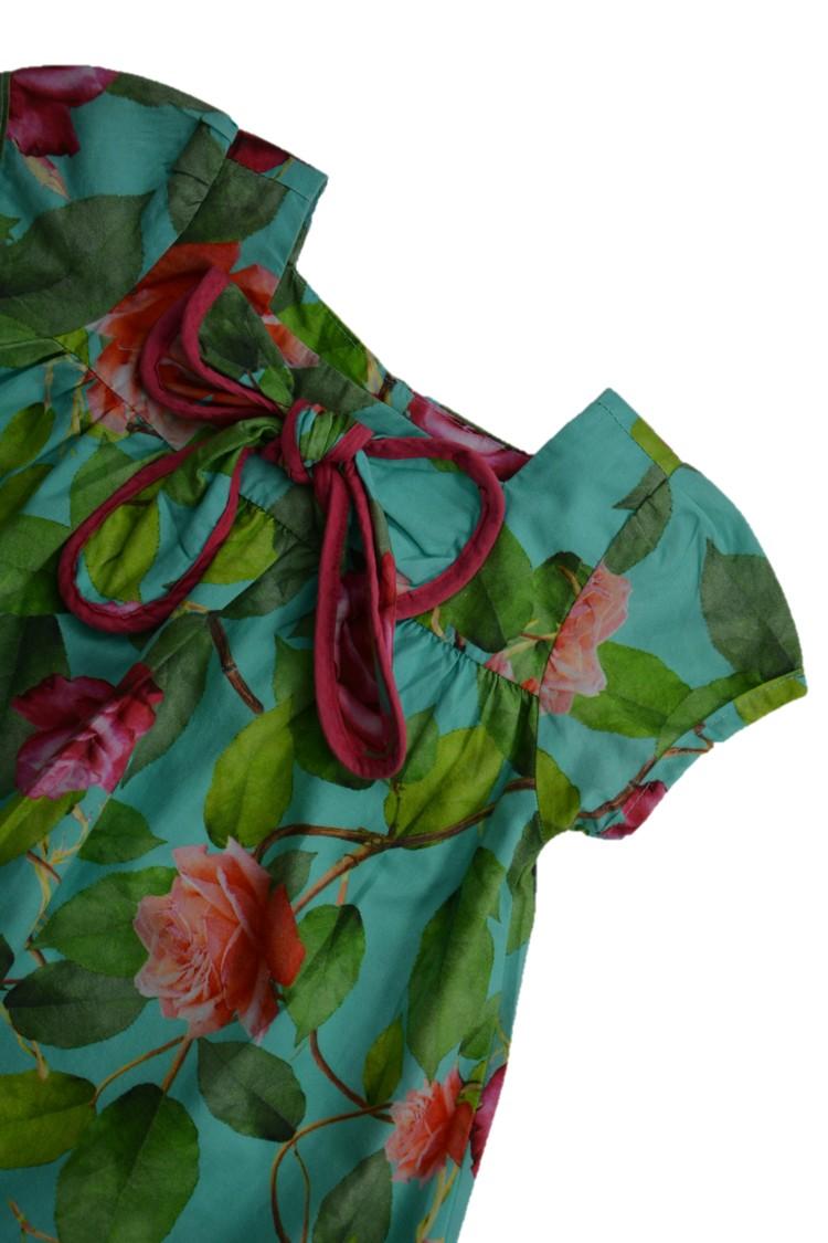 Foto2 - Vestido Manga Curta | Precoce