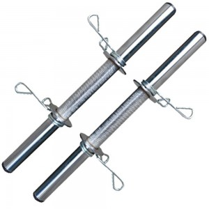 Foto2 - Kit 2 Barras / Halteres ocas + 20kg de Pesos / Anilhas para Musculação - Novidade |Fitness Prado