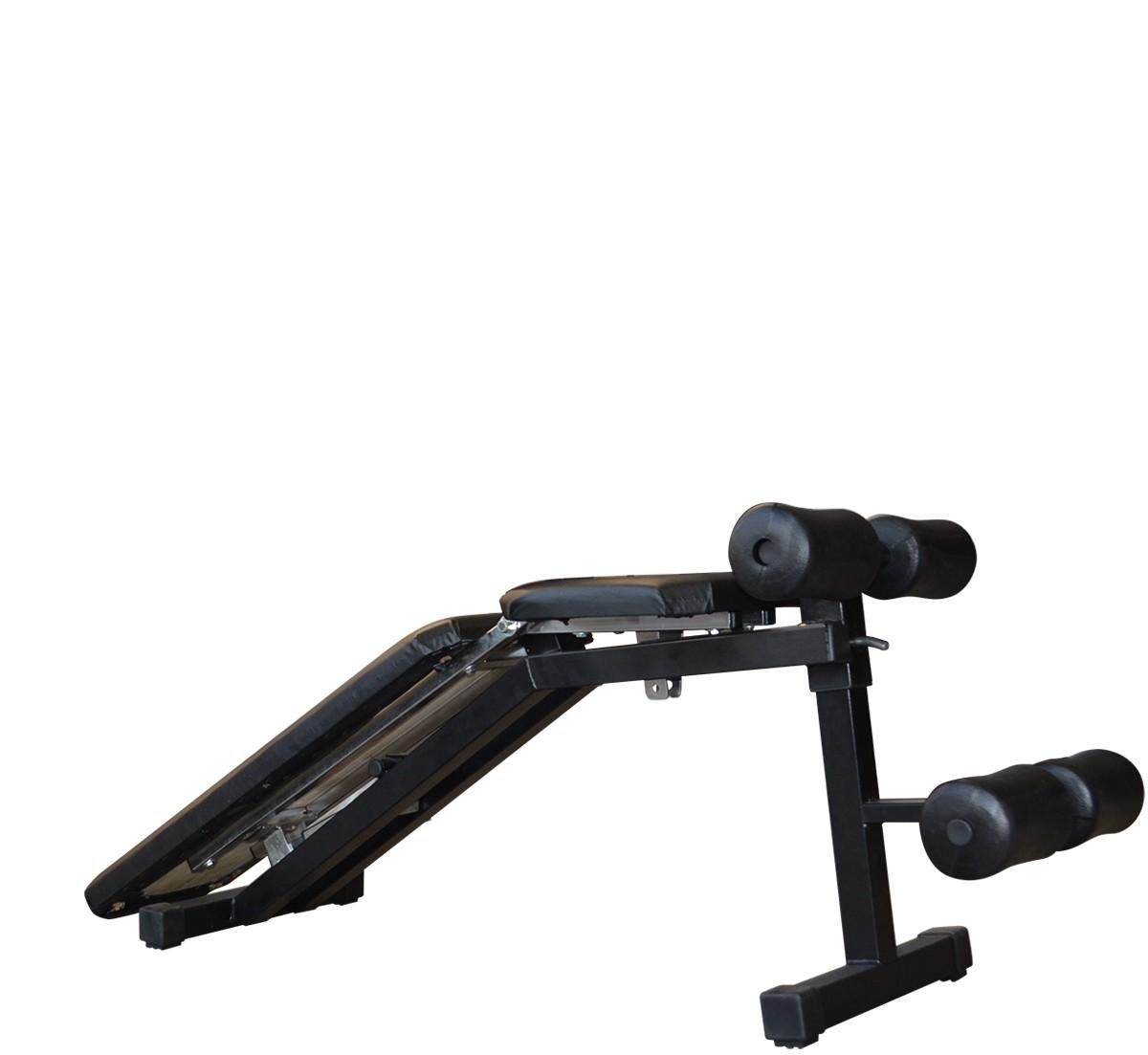 Foto5 - Banco livre Regulável para Exercícios com Barras, Halteres ou equipamentos, multiuso. Melhor Preço - Fitness Prado