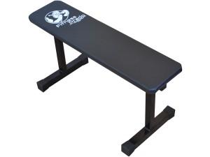 Foto5 - Banco Livre Reto / fixo para Musculação com Barras / Halteres ou equipamentos ( multiuso ). Melhor Preço - Fitness Prado