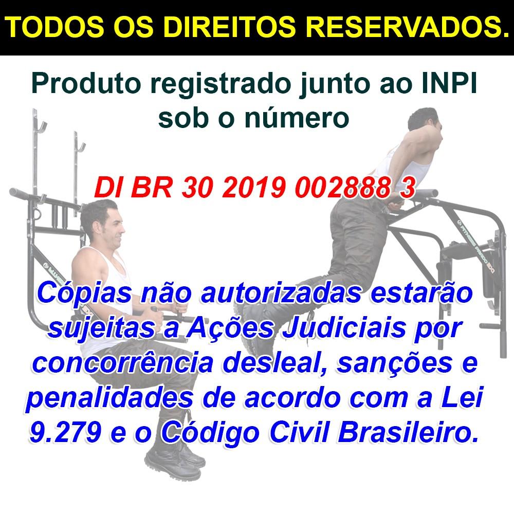 Foto8 - Barra Fixa de Parede que vira Paralela 4X1 Multiuso / Mista. Treine em Casa! Exclusividade no Brasil. - Fitness Prado