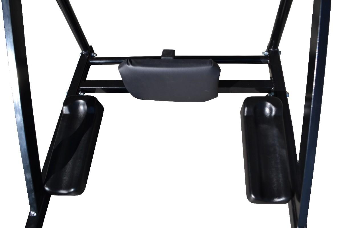 Foto4 - Barra Fixa e Paralela / Mista de Parede 4 Em 1 Multiuso. Exclusividade no Brasil. Menor Preço e Melhor Qualidade! - Fitness Prado