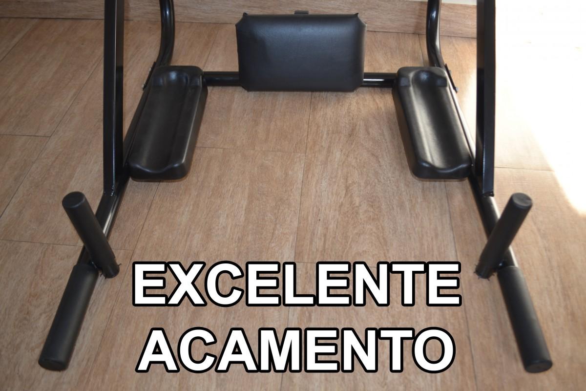 Foto6 - Barra Fixa e Paralela / Mista de Parede 4 Em 1 Multiuso. Exclusividade no Brasil. Menor Preço e Melhor Qualidade! - Fitness Prado