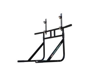 Foto3 - Barra Fixa de Parede Que Vira Paralela 2X1 Multifuncional. Faça Muscle Up, Paralela, Barra Pronada... - Fitness Prado