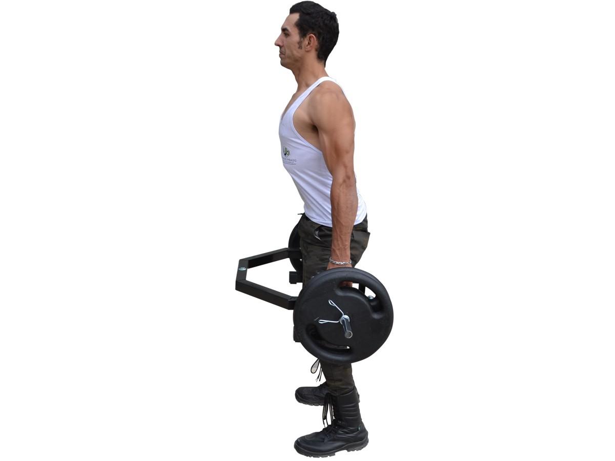 Foto6 - Barra Hexagonal Para Levantamento Terra - Melhor Barra | Fitness Prado