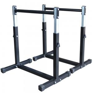 Foto1 - Par de Paralelas com Regulagem de altura até 90cm. Menor Preço | Fitness Prado