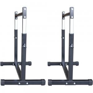 Foto2 - Par de Paralelas com Regulagem de altura até 90cm. Menor Preço | Fitness Prado