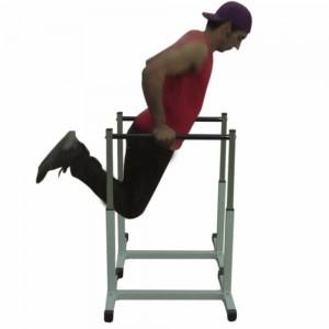 Foto4 - Par de Paralelas com Regulagem de altura até 90cm. Menor Preço | Fitness Prado