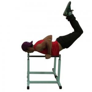 Foto6 - Par de Paralelas com Regulagem de altura até 90cm. Menor Preço | Fitness Prado