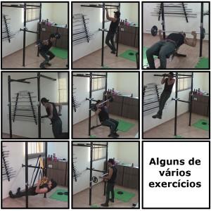 Foto2 - Power Rack Para Musculação / Crossfit Agachamento Supino Fixa E Paralela. Excelente para seus Treinos. Menor Preço | Fitness Prado
