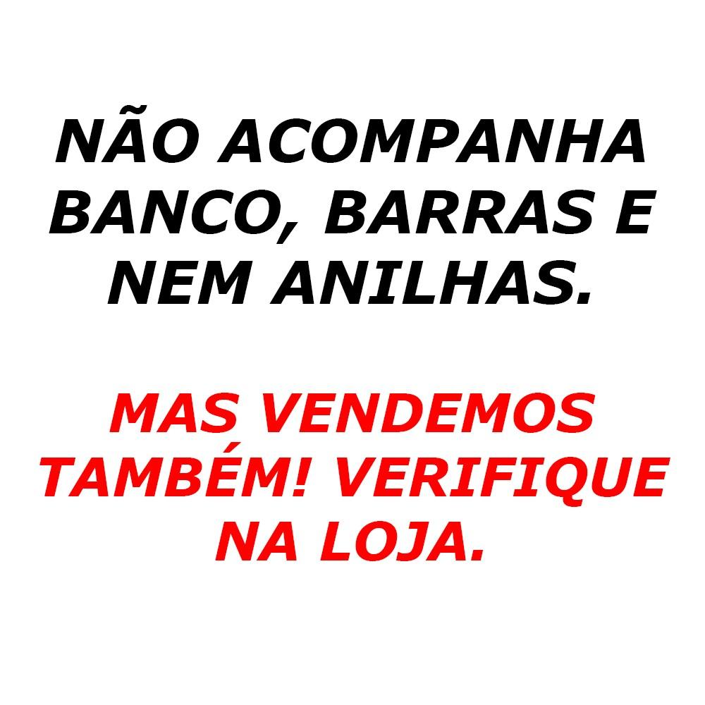 Foto6 - Suporte Cavalete para Barra - Supino, Bíceps, Banco Livre E Mais...- Fitness Prado