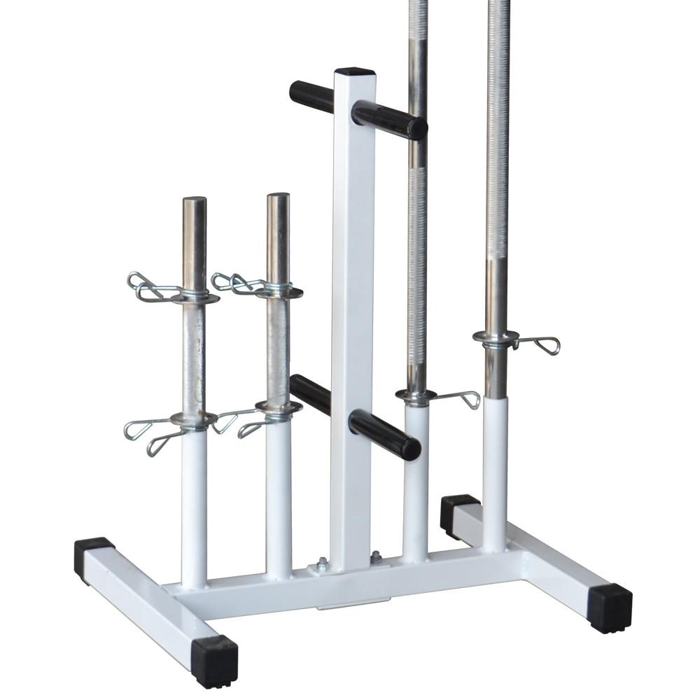 Foto3 - Suporte Expositor Para Barras E Anilhas / Capacidade 300kg - Fitness Prado
