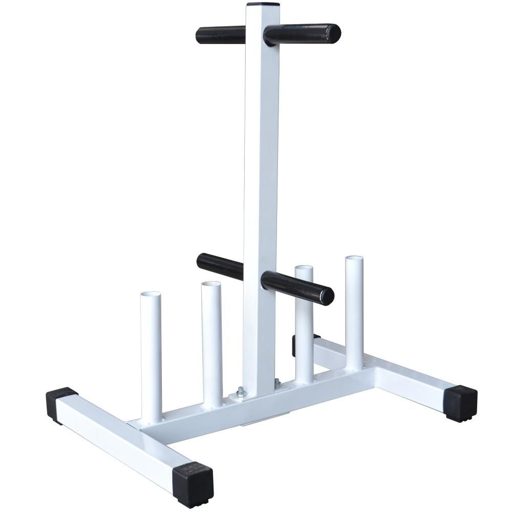 Foto2 - Suporte Expositor Para Barras E Anilhas / Capacidade 300kg - Fitness Prado