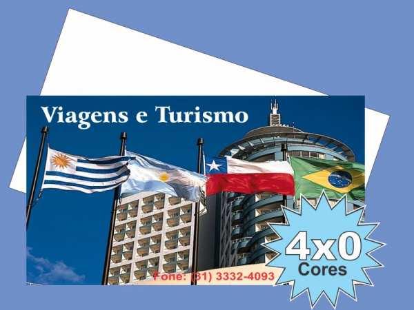 Foto 1 - 500 CARTÕES COUCHÊ BRILHO