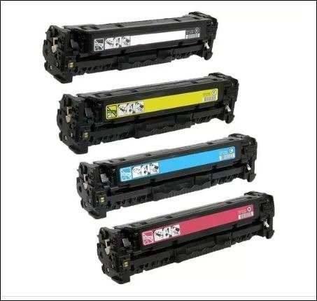 Foto11 - Kit Toner Hp 4 Cores Cf400x 201x M252dw M277dw Alto Rendim X