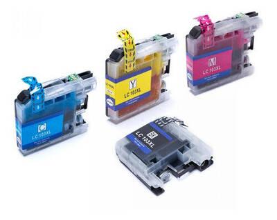 Foto1 - 4 Cartucho Compativel Lc103 Lc105 J4310 J6520 J6720 J6920