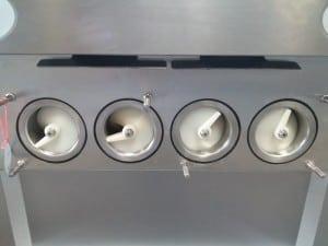 Foto3 - MÁQUINA DE SORVETE EXPRESSO - 7 BICOS - 4 SABORES E 3 MISTA LS BJ7446 - Produto Certificado pelo Inmetro