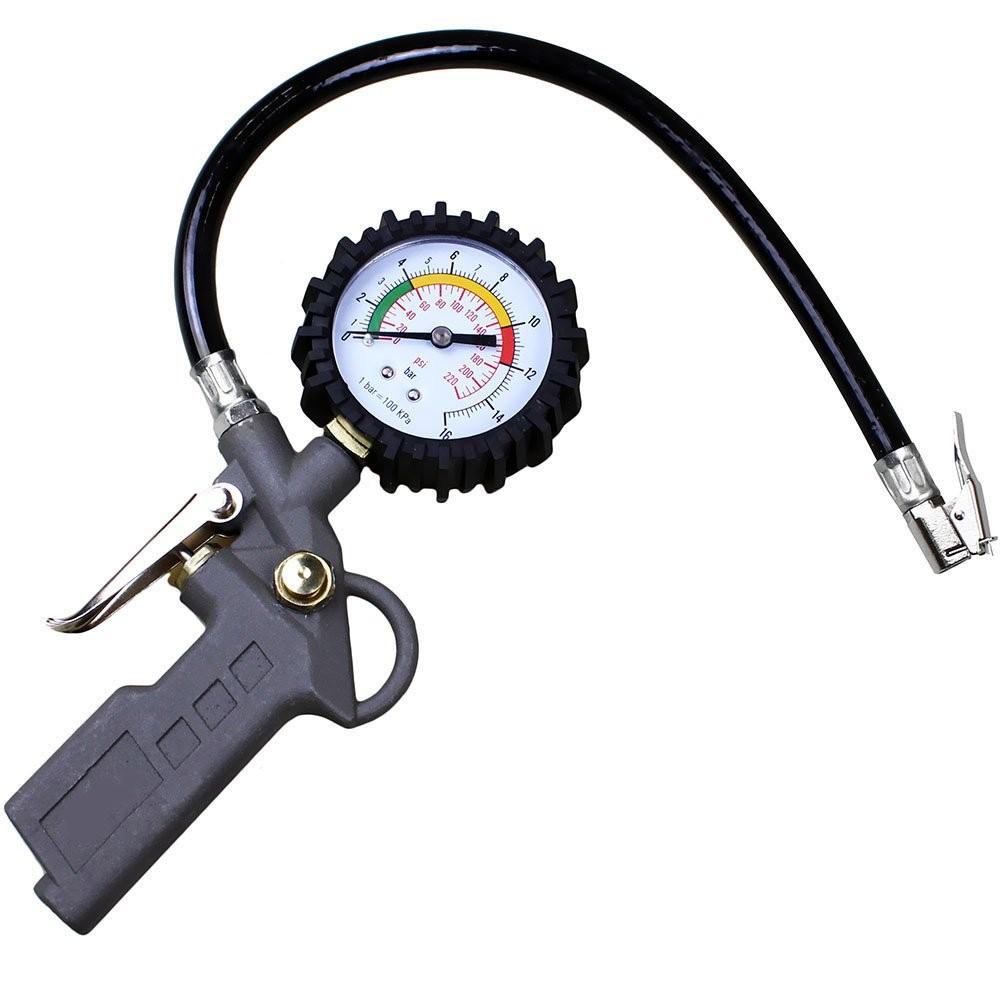 Foto 1 - Calibrador Pressão Pneus Portátil