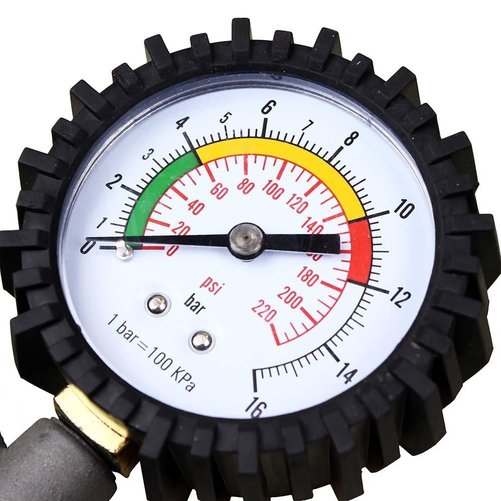 Foto4 - Calibrador Pressão Pneus Portátil
