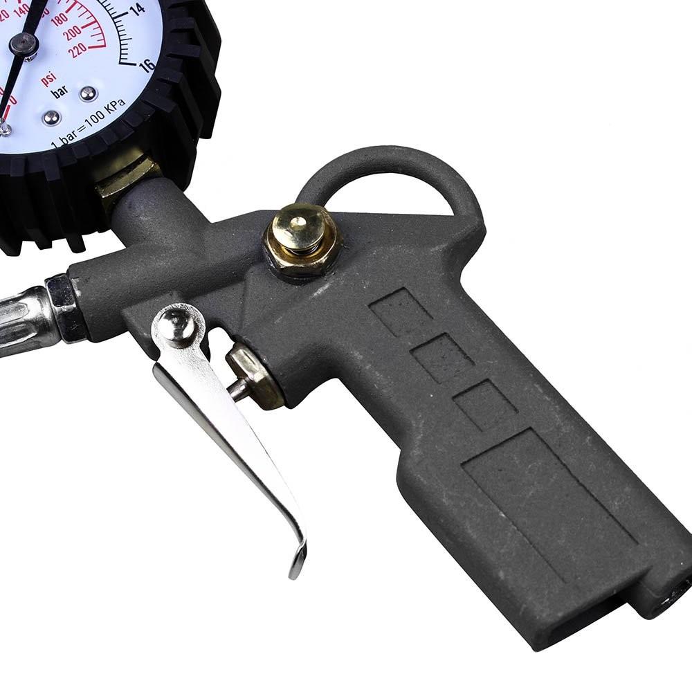 Foto3 - Calibrador Pressão Pneus Portátil