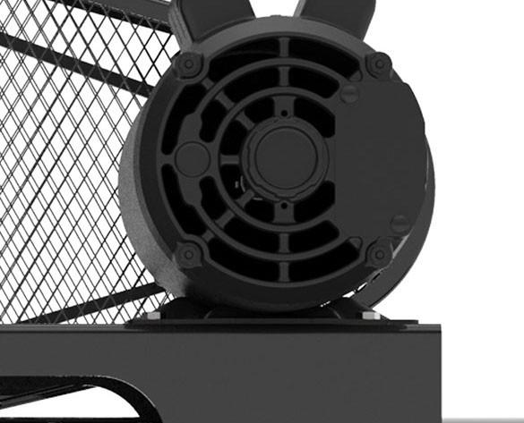 Foto3 - Compressor de Ar 15 Pés 140PSI 175 Litros Monofásico 127/220V