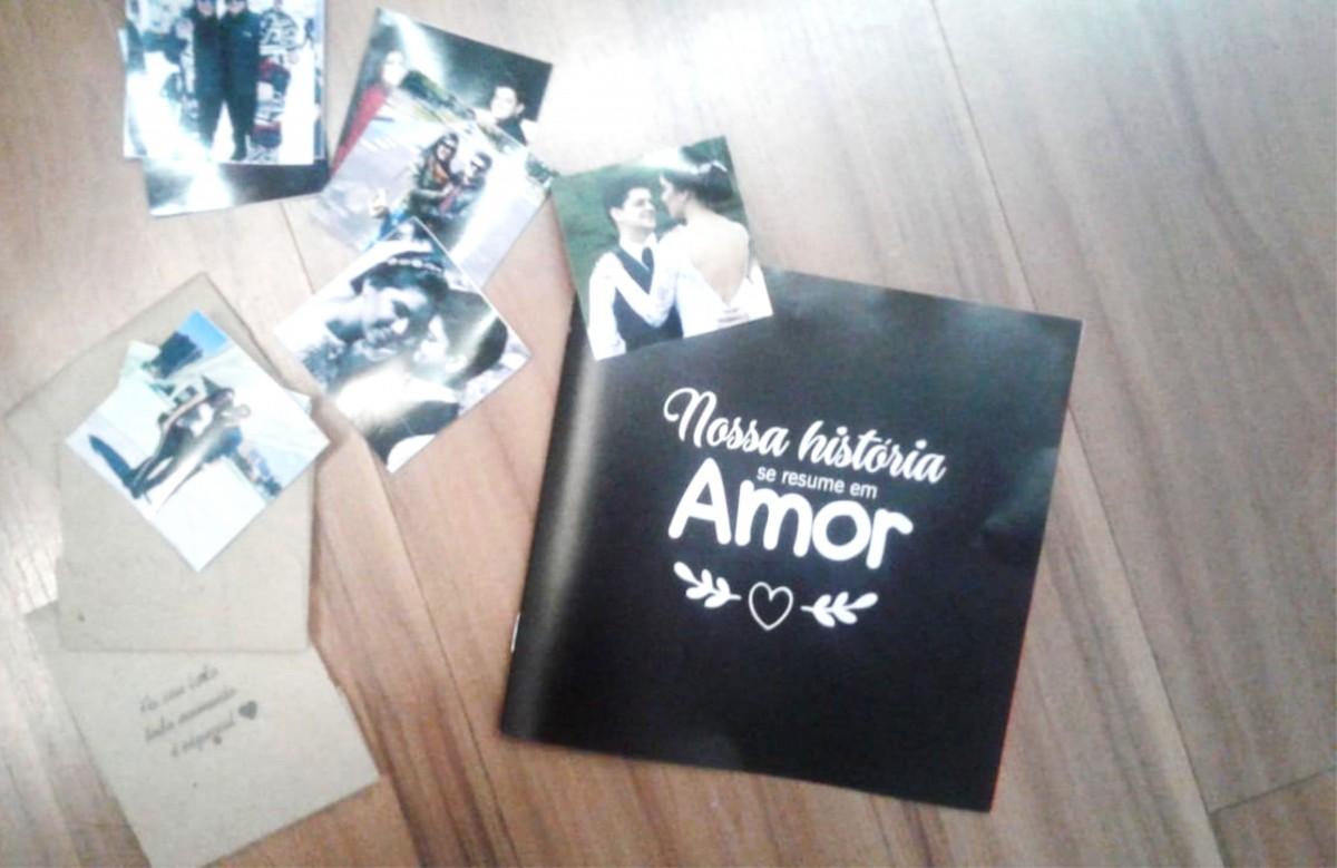 Foto 1 - Mini-álbum de Figurinhas dia dos Namorados