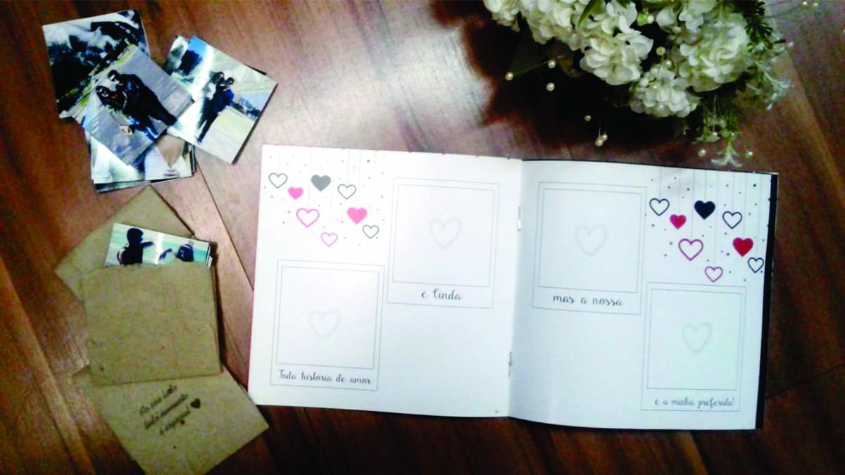 Foto2 - Mini-álbum de Figurinhas dia dos Namorados