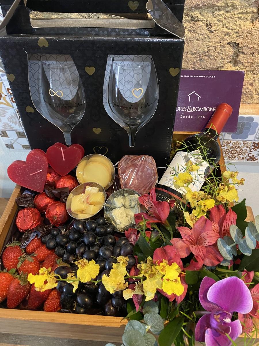 Foto2 - Orquídea Vinho e Frios