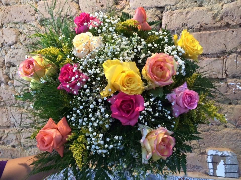Foto 1 - Rosas Coloridas