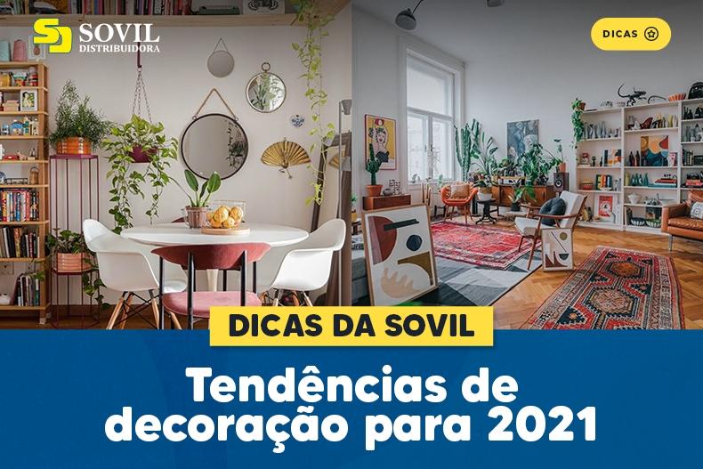 Tendências de decoração para 2021