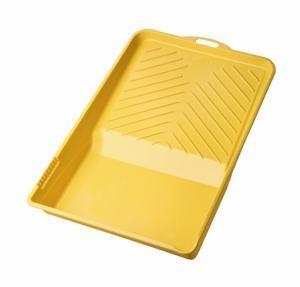 Foto 1 - Bandeja Plástica Amarela Para Pintura Atlas 1 Litro