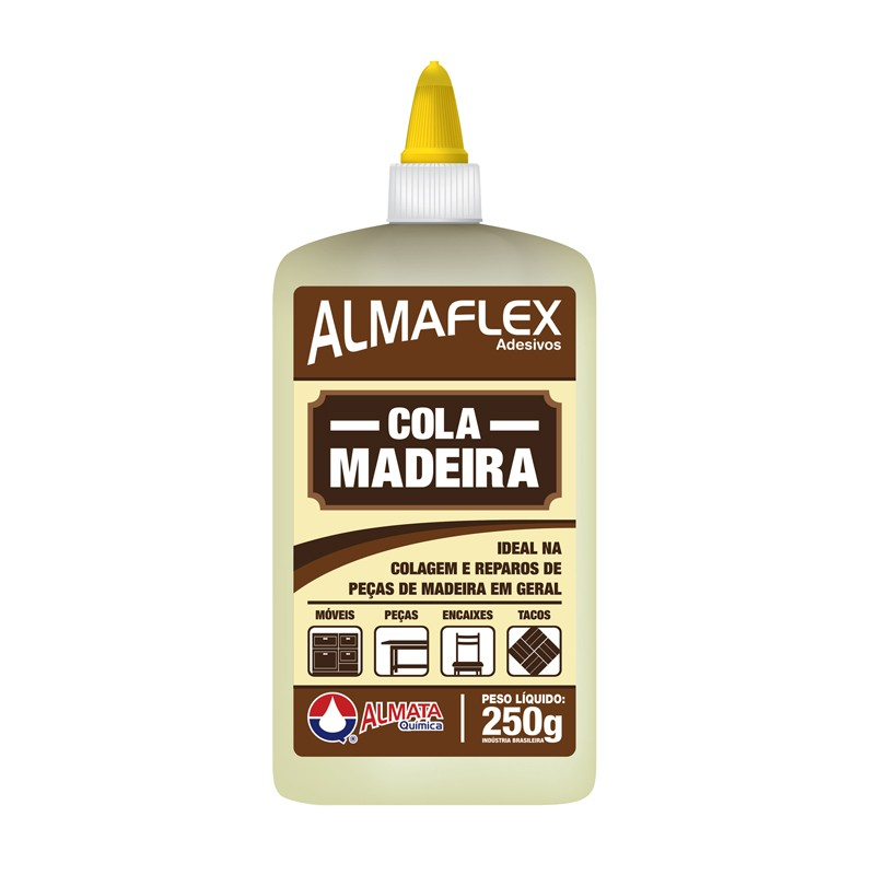 Foto 1 - Cola Madeira Almaflex