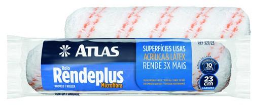 Foto 1 - Rolo Lã Microfibra Rendplus Atlas 23cm 327/19