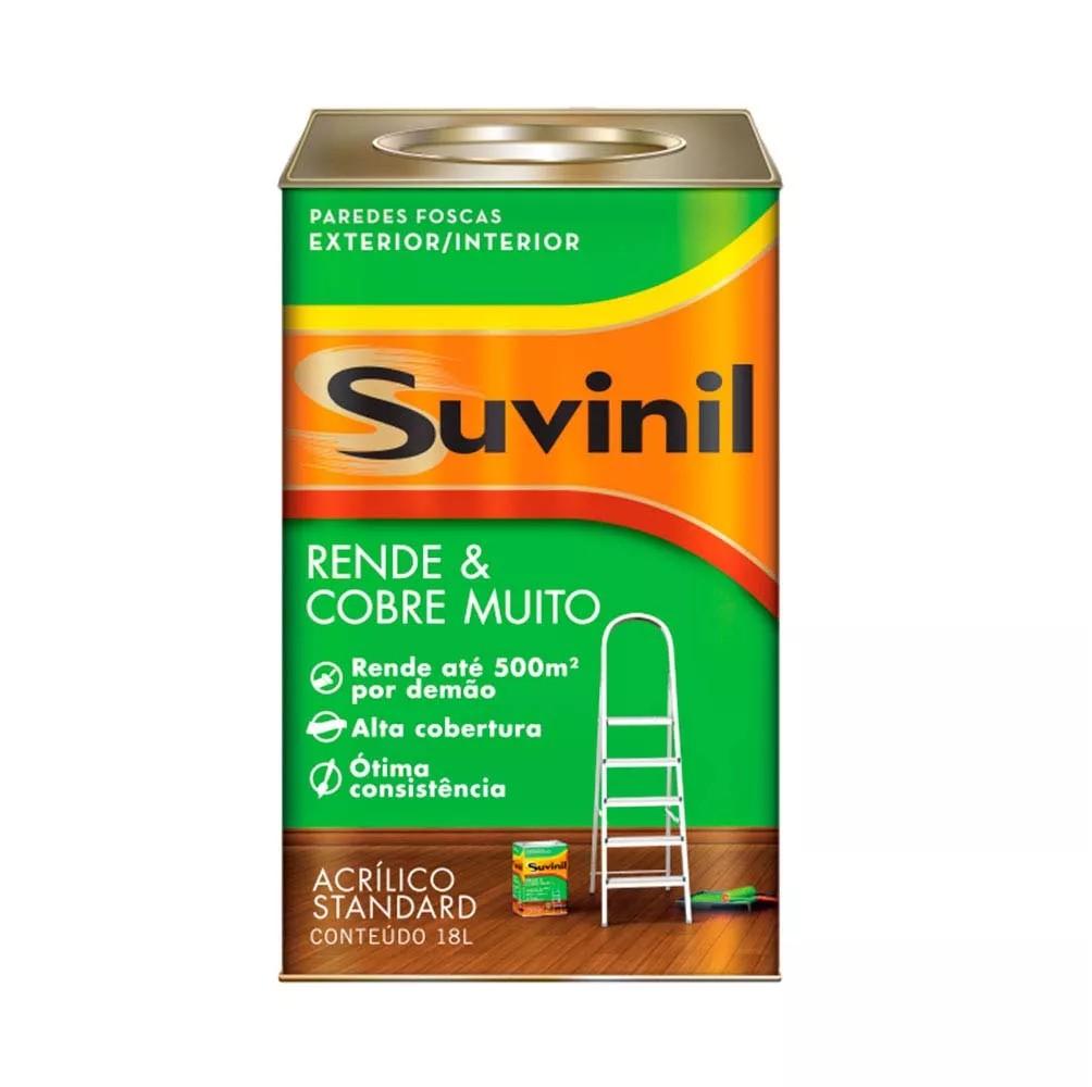 Foto 1 - Tinta rende e cobre muito 18L - Suvinil