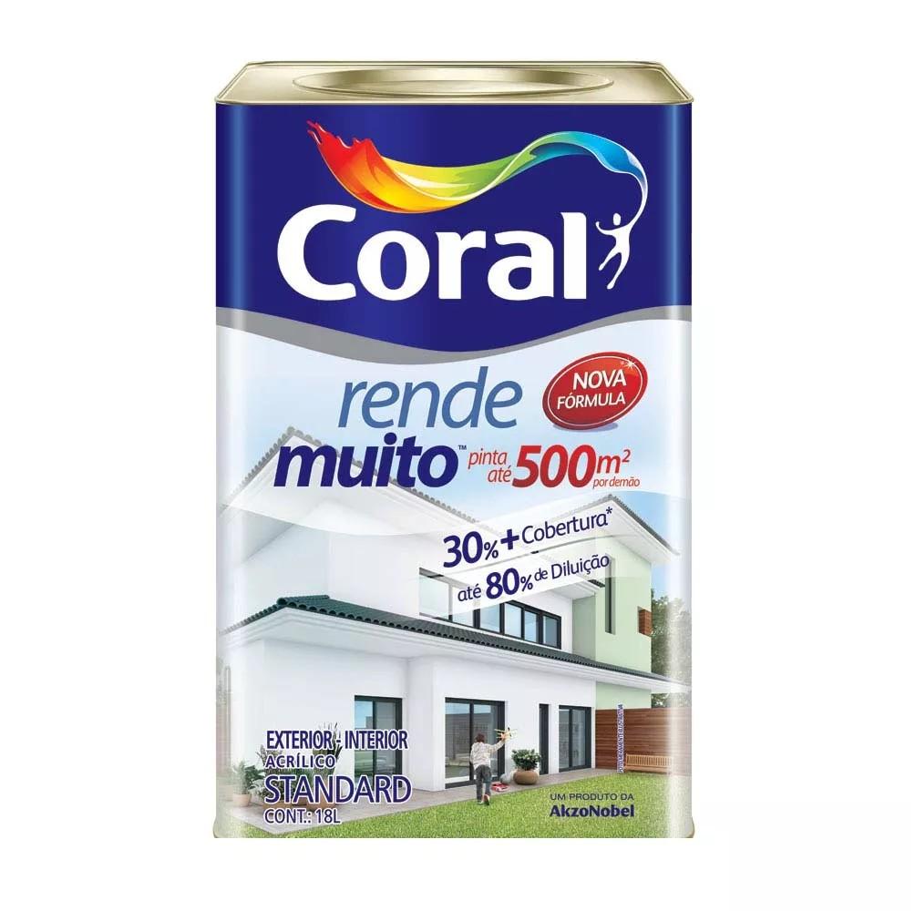 Foto 1 - Tinta rende muito 18L - Coral
