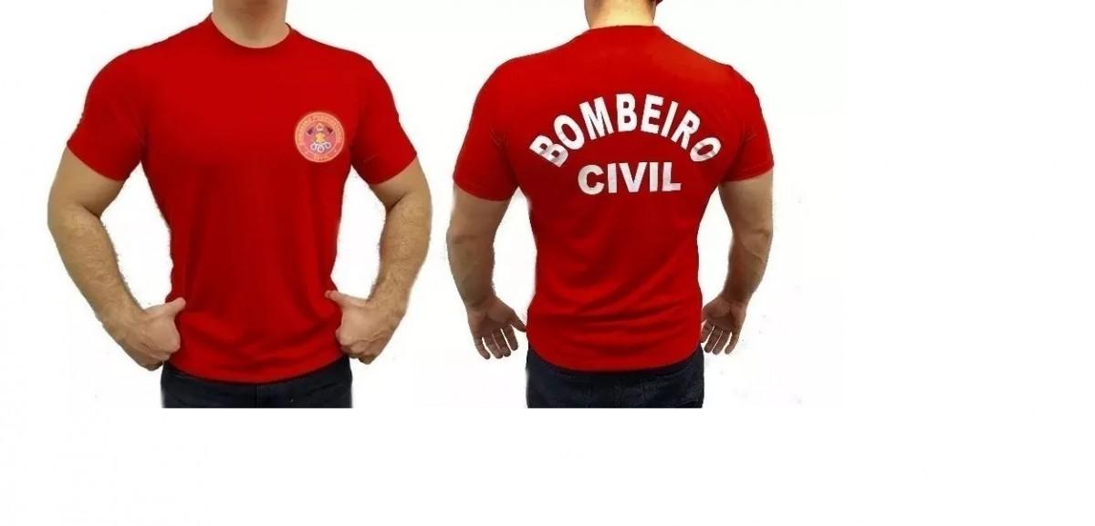 Foto 1 - Camisa Bombeiro Civil