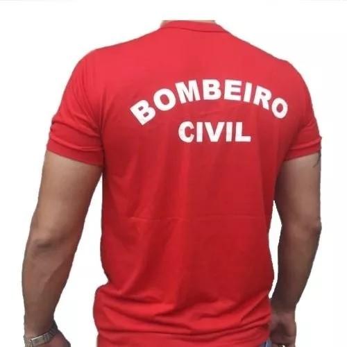 Foto2 - Camisa Bombeiro Civil
