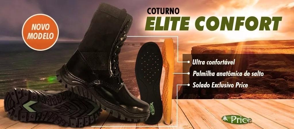Foto2 - Coturno Price Elite Confort Com Zíper