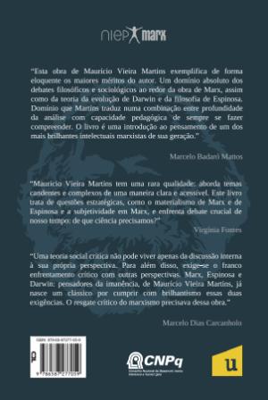 Foto2 - (Pré-Venda) Marx, Darwin e Espinosa - pensadores da imanência - Coleção NIEP MARX