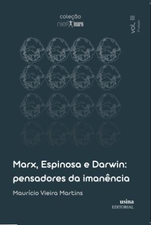 Foto1 - (Pré-Venda) Marx, Darwin e Espinosa - pensadores da imanência - Coleção NIEP MARX