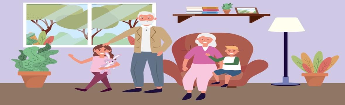 Livros infantis que buscam ajudar as crianças a compreenderem o que acontece com seus avós .