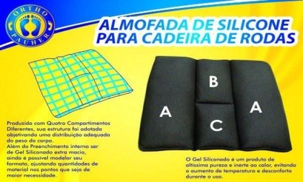 Foto3 - Almofada de Silicone para Cadeira de Rodas Ortho Pauher