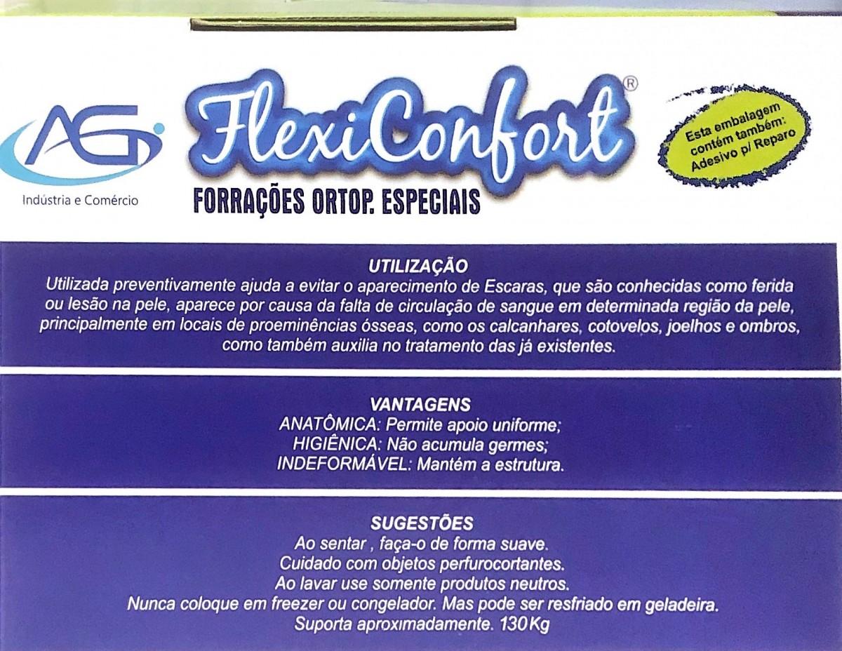Foto4 - Almofada Forração Ortopédica Gel Quadrada com Orifício