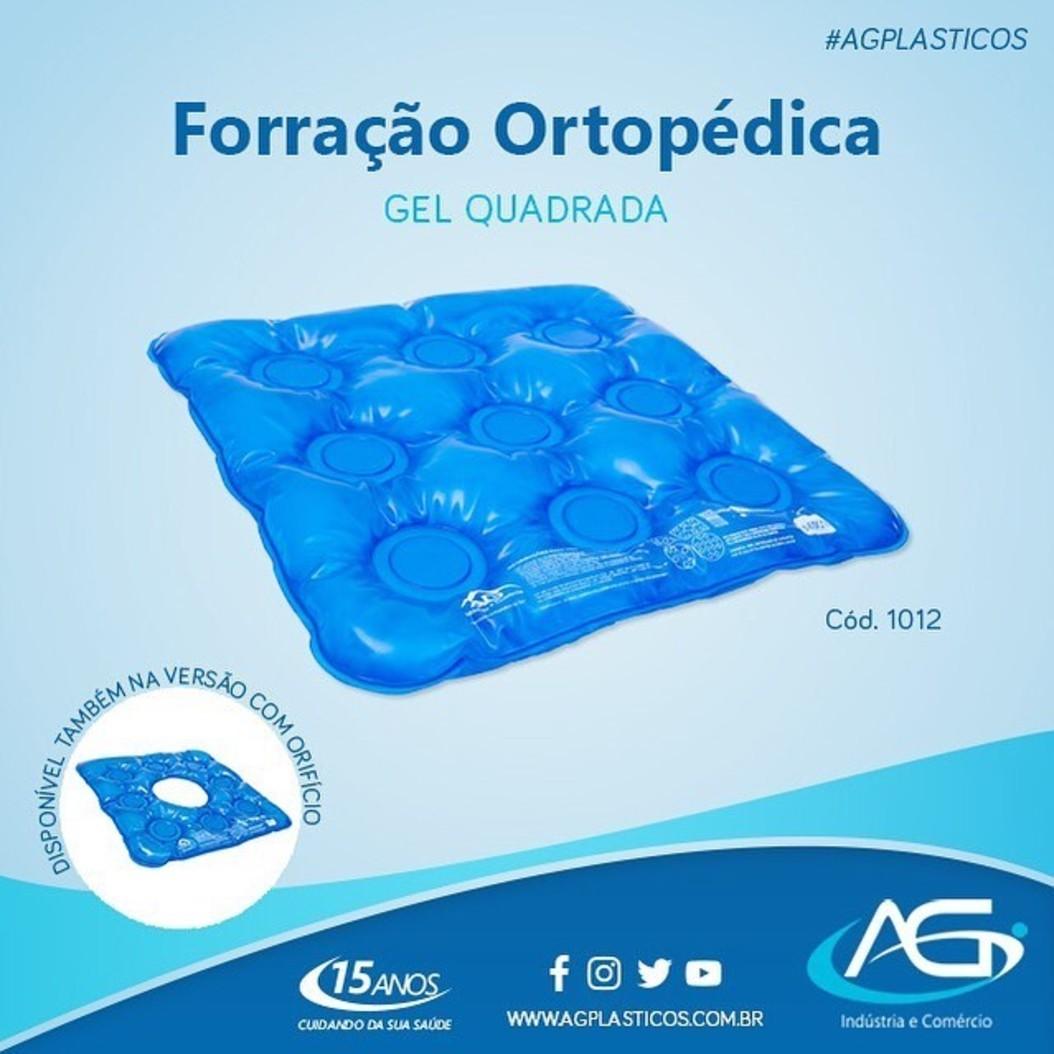 Foto3 - Almofada Forração Ortopédica Gel Quadrada.