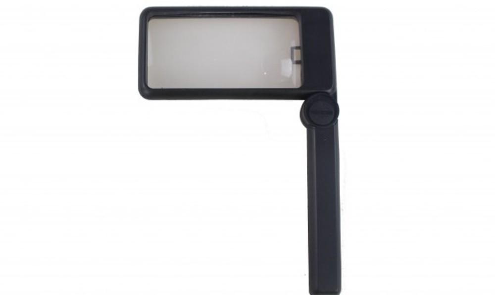 Foto3 - Lupa Retangular Retrátil com Iluminação