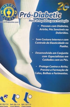 Foto2 - Meia Ortopédica para Proteção Pró-Diabetic