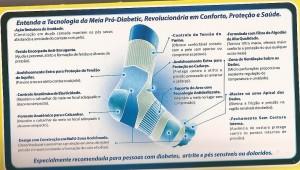 Foto3 - Meia Ortopédica para Proteção Pró-Diabetic