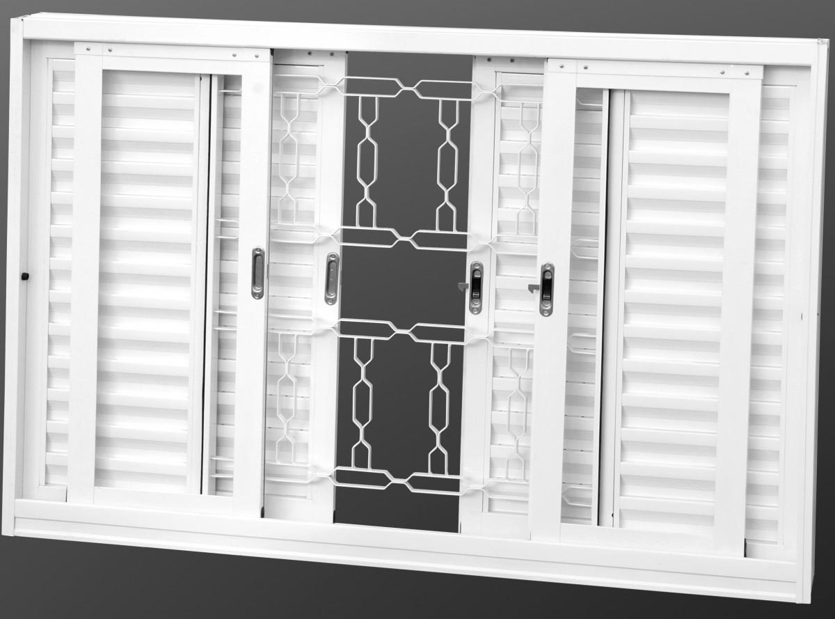 Foto 1 - Janela veneziana Casa Branca
