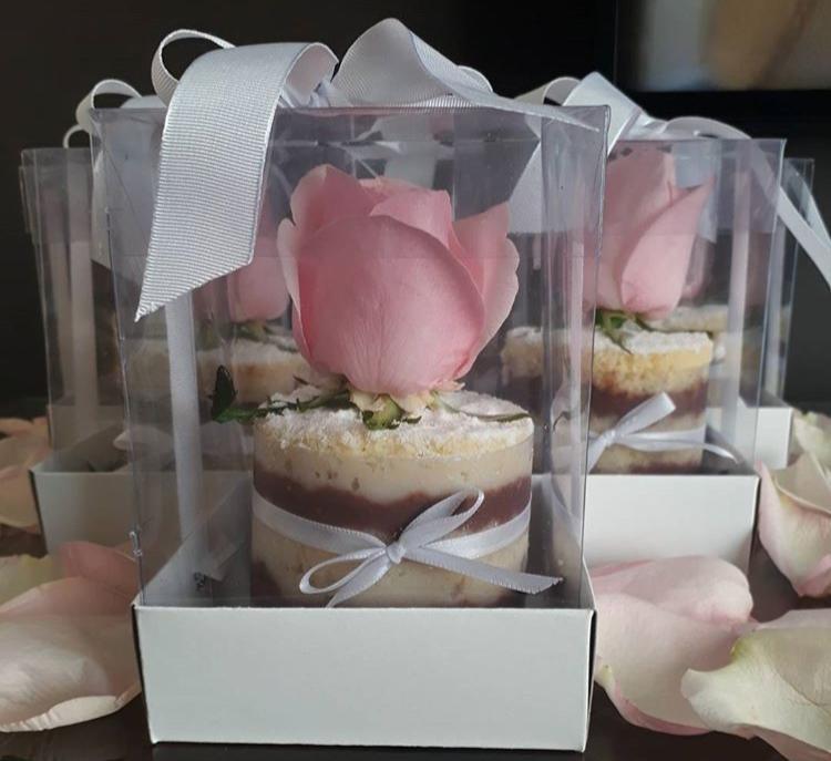 Foto 1 - MINI CAKE DE MASSA BRANCA